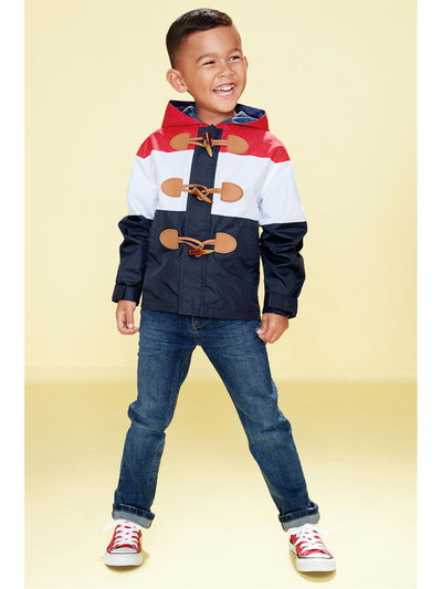 Boys Colorblock Windbreaker  rwb alt1