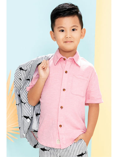 Boys Day at the Beach Shirt  navy alt1