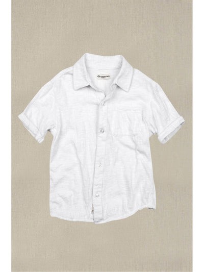 Boys Day at the Beach Shirt  white 1