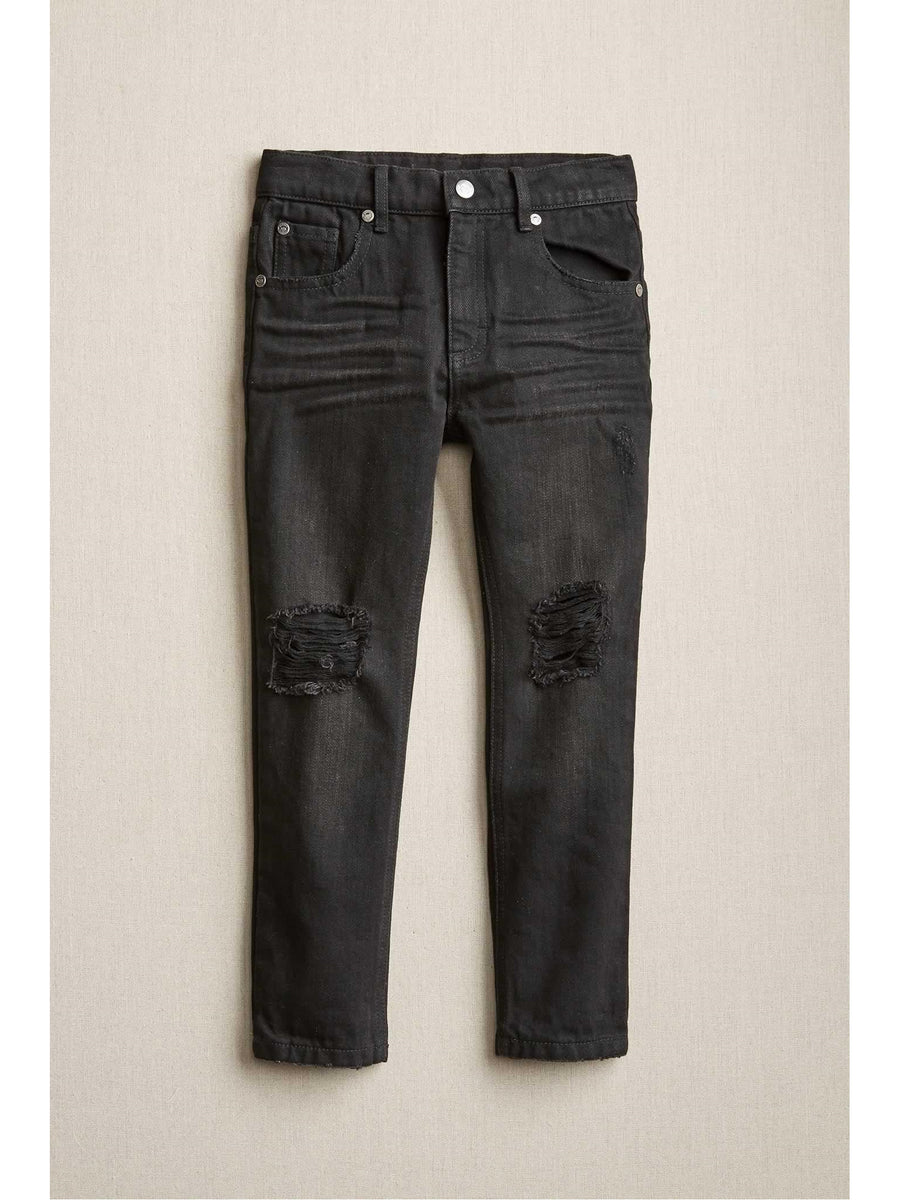 Boys Distressed Slim Jeans