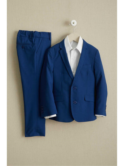 Boys French Blue Mod Suit