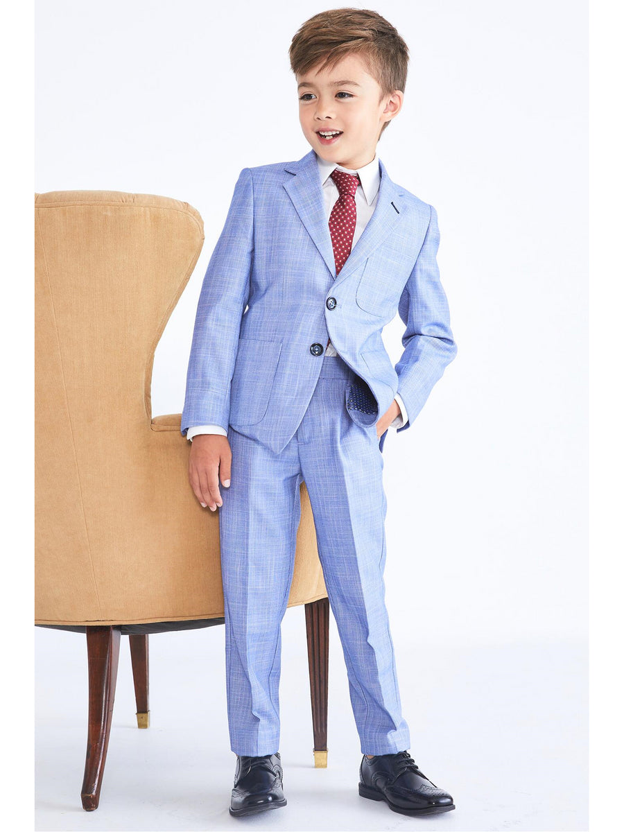 Boys Glen Plaid Suit