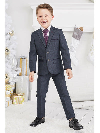 Boys Gen Plaid Suit