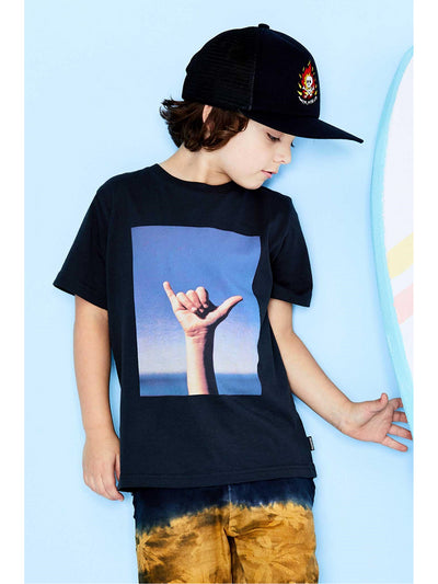 Boys Hang Loose Tee  bk alt1