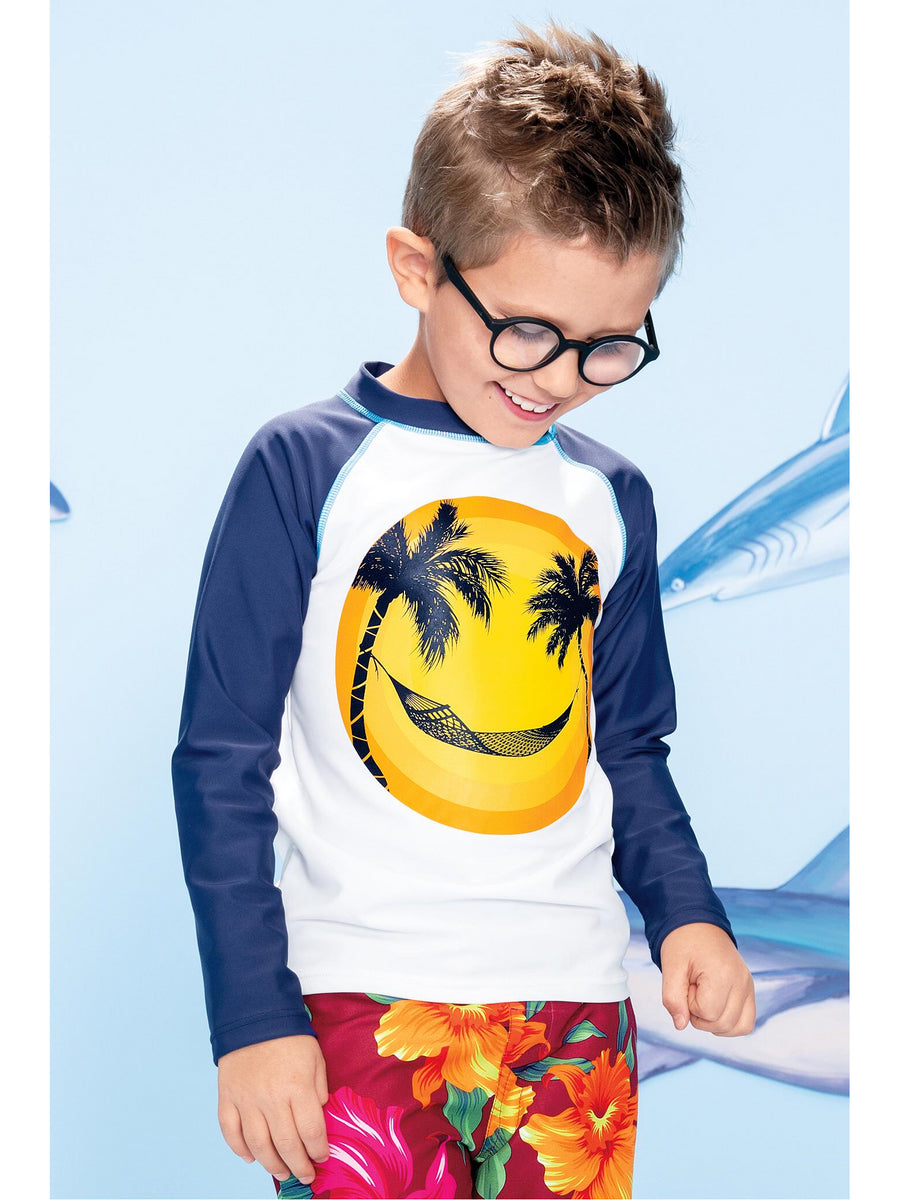 Boys Happy Hammock Rash Guard