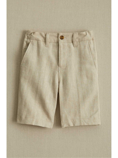 Boys Herringbone Dress Shorts