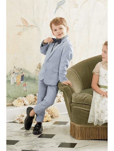 Boys Light Blue Mod Suit  lbl alt1