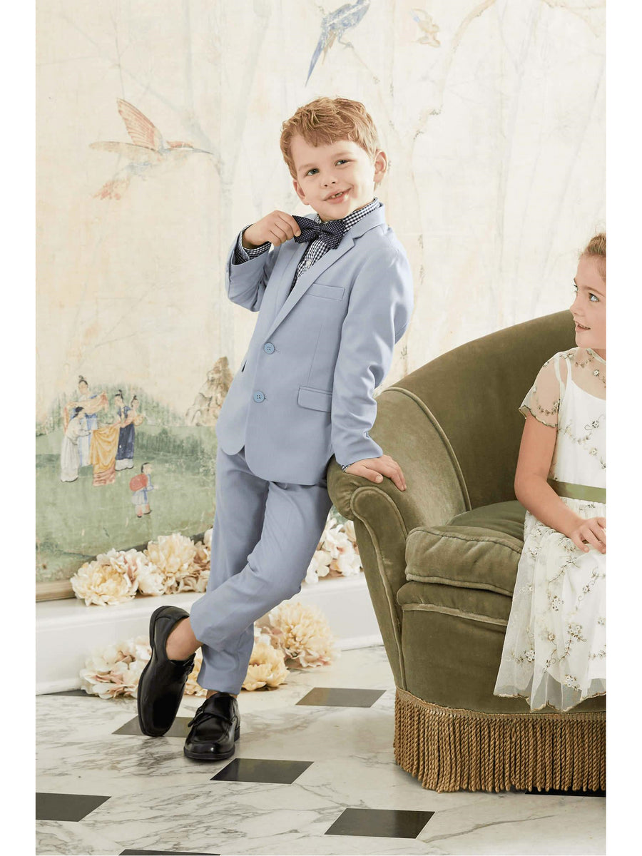 Boys Light Blue Mod Suit