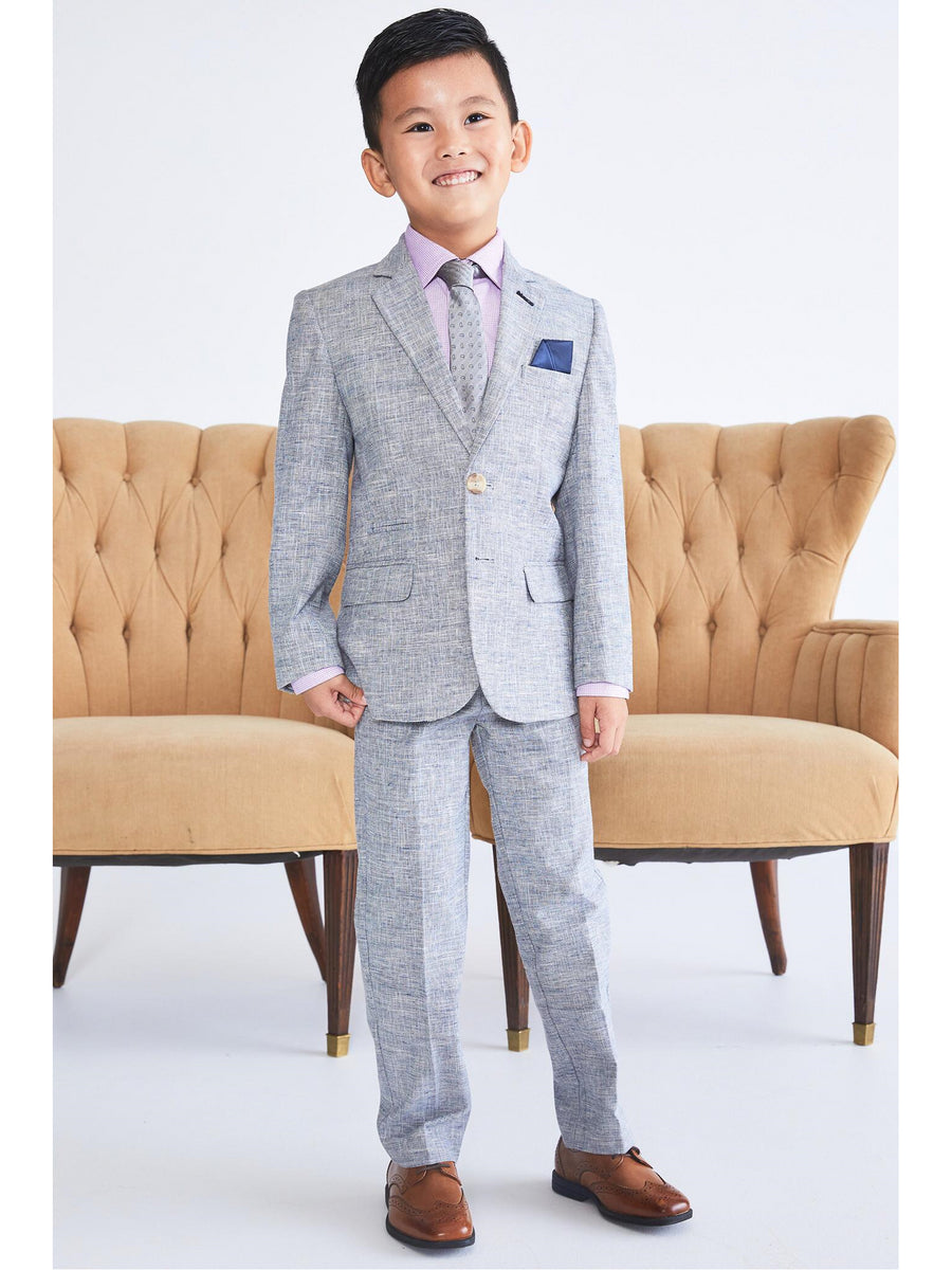 Boys Linen Fresco Suit