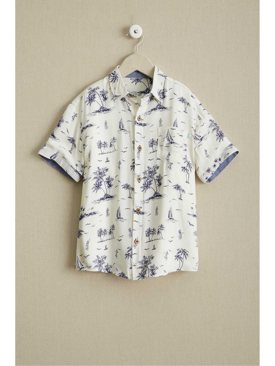 Boys Luau Shirt