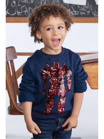 Boys Mighty Robot Sweatshirt