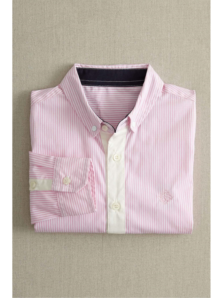 Boys Mini Stripe Shirt