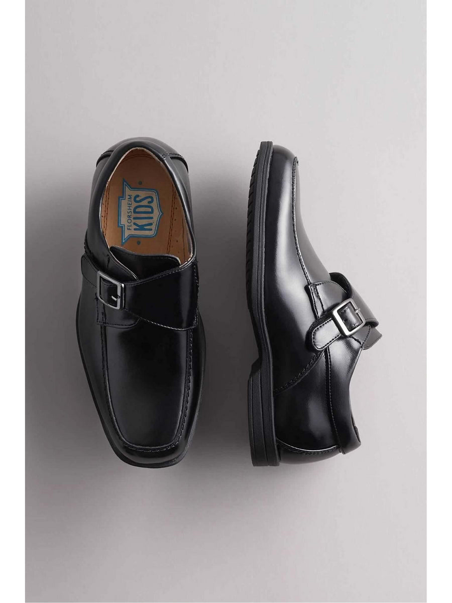 Boys Monk Strap Shoes