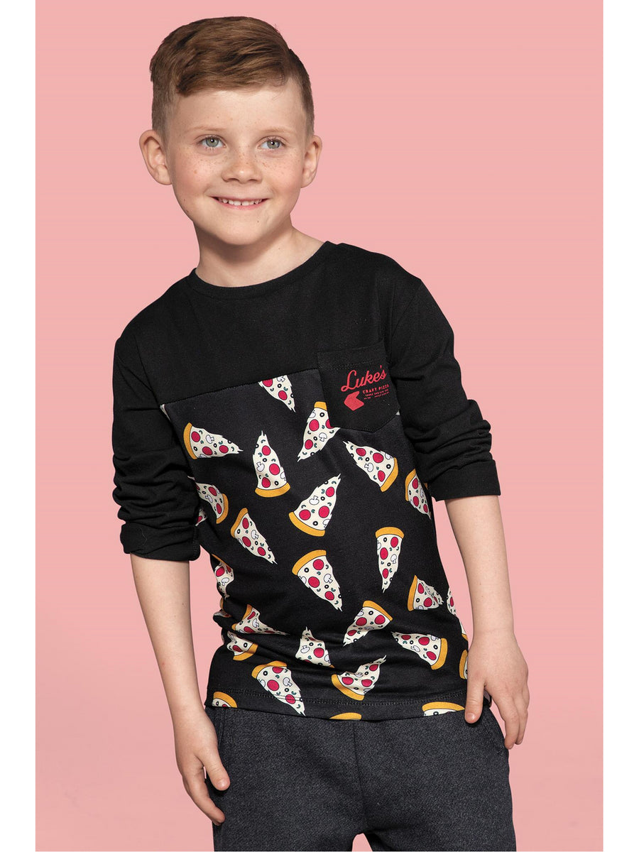 Boys Pizza Party Tee