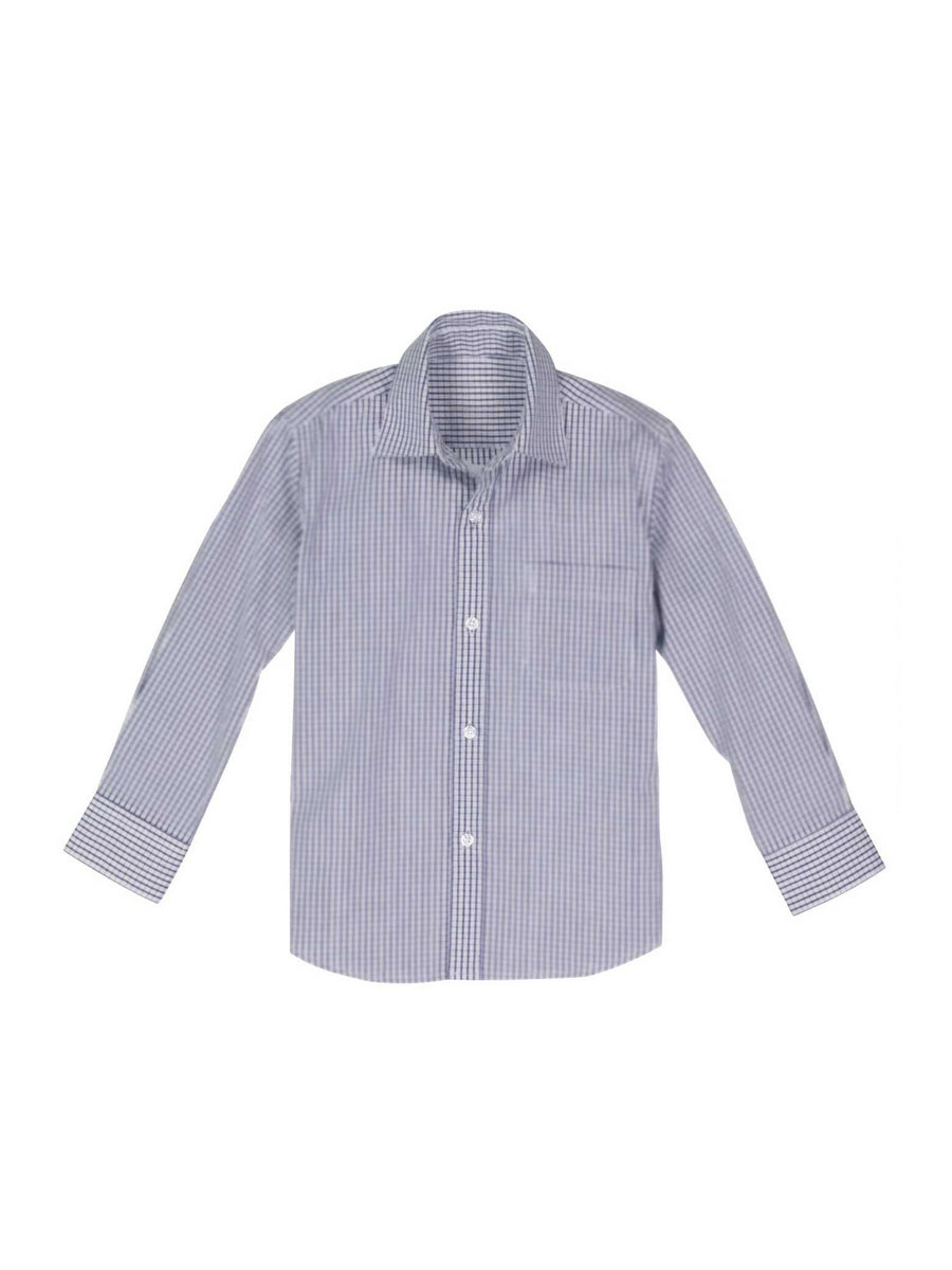 Boys Plaid Dress Shirt