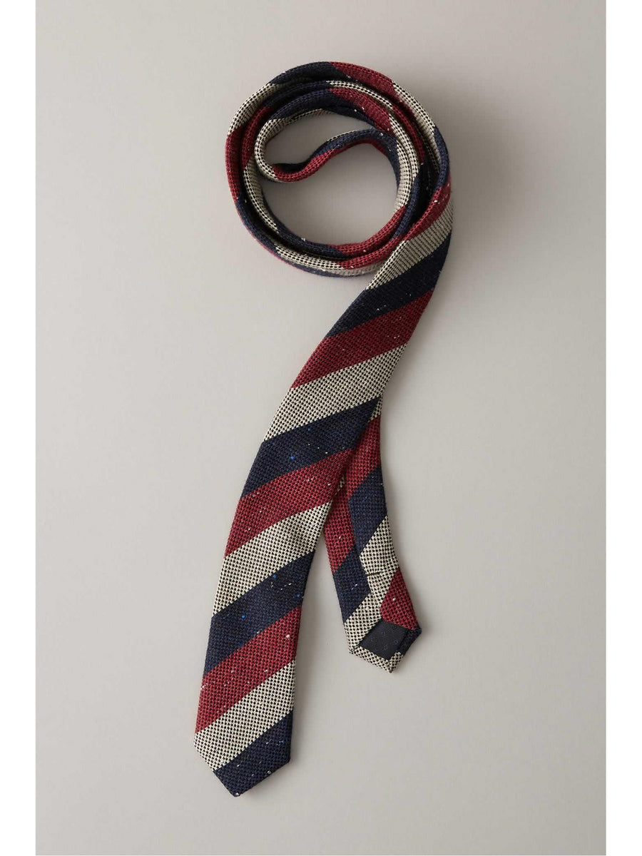 Boys Professor Striped Tie