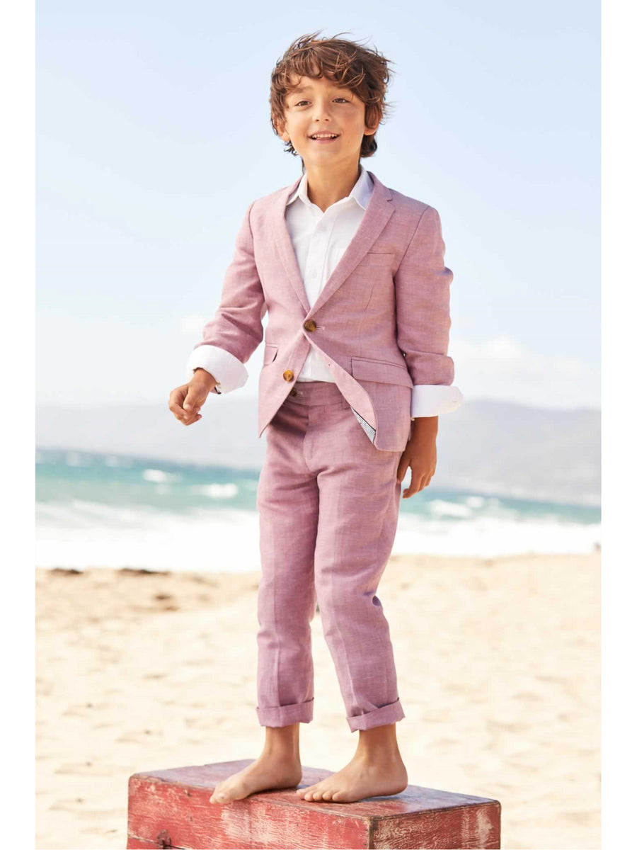 Boys Raspberry Mod Suit