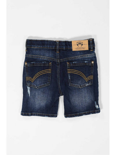 Boys Ripped Denim Shorts  liwsd alt2
