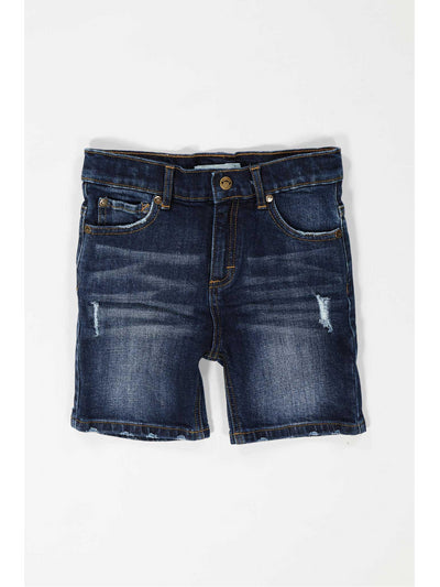 Boys Ripped Denim Shorts  mdwsd 1