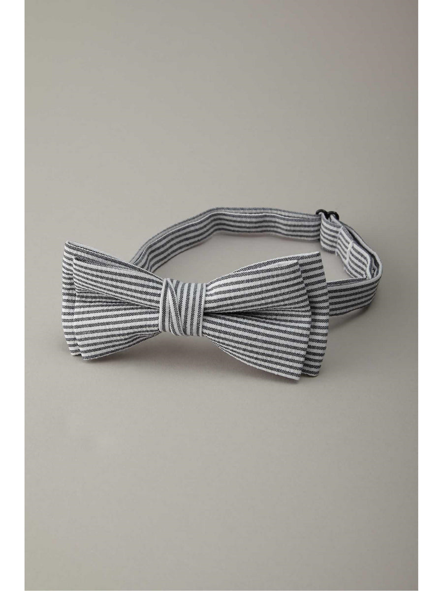 Boys Seersucker Bow Tie
