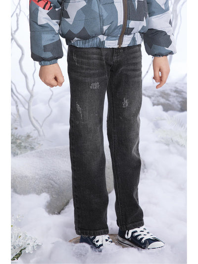 Boys Slim Leg Denim Pants
