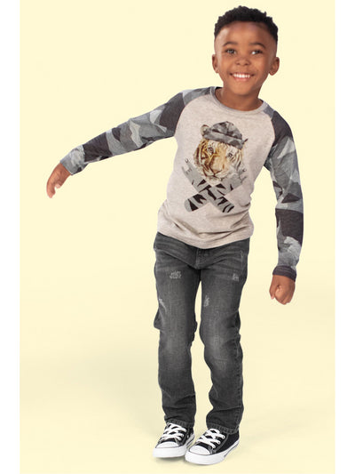 Boys Slim Leg Denim Pants  gryws alt2