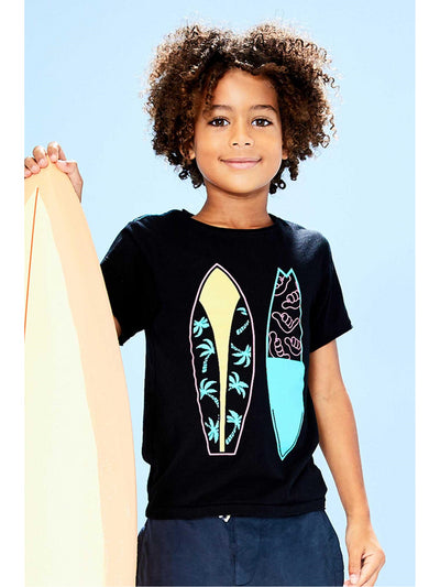 Boys Surfboards Tee  blk alt1