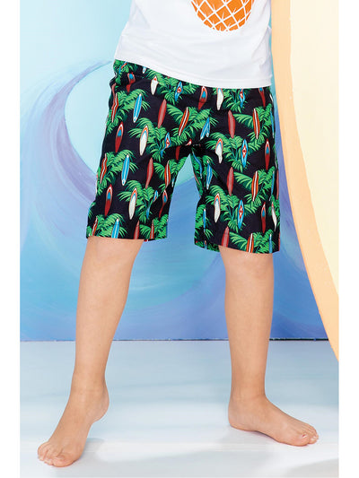Boys Surf's Up Swim Trunks  mlbml 1
