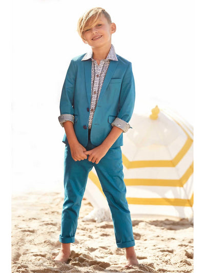 Boys Teal Mod Suit  tea alt1