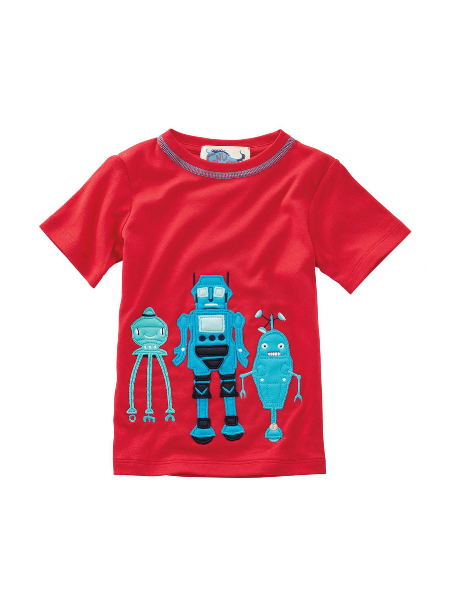 Boys Three Musketeers Robot Tee