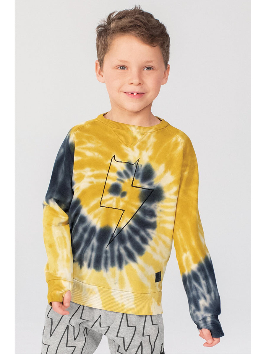 Boys Tie-Dye Fleece Sweatshirt