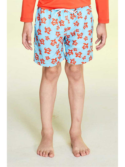 Boys Turtle Swim Trunks