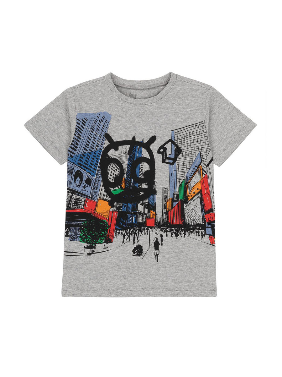 Boys Urban Graffiti Tee