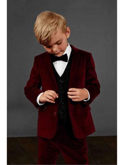 Boys Velvet Suit  mar alt2