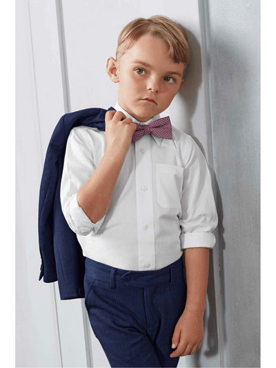Boys White Dress Shirt  whi alt1