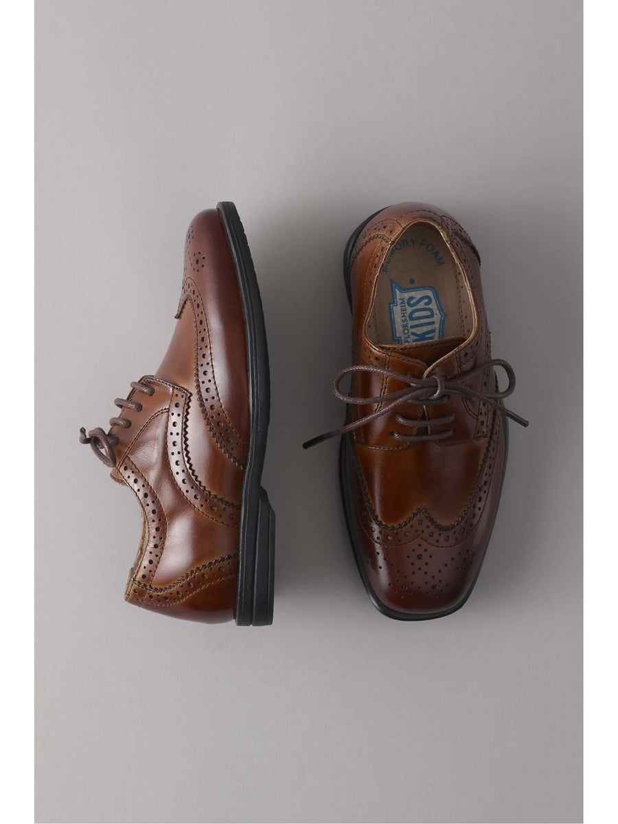 Boys Wingtip Shoes