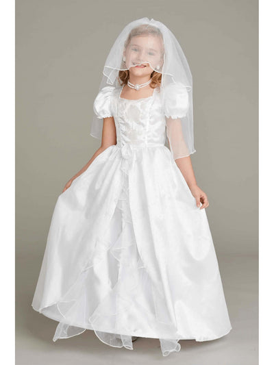Bride Costume Play Set For Girls