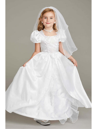 Bride Costume Play Set For Girls  whi alt1