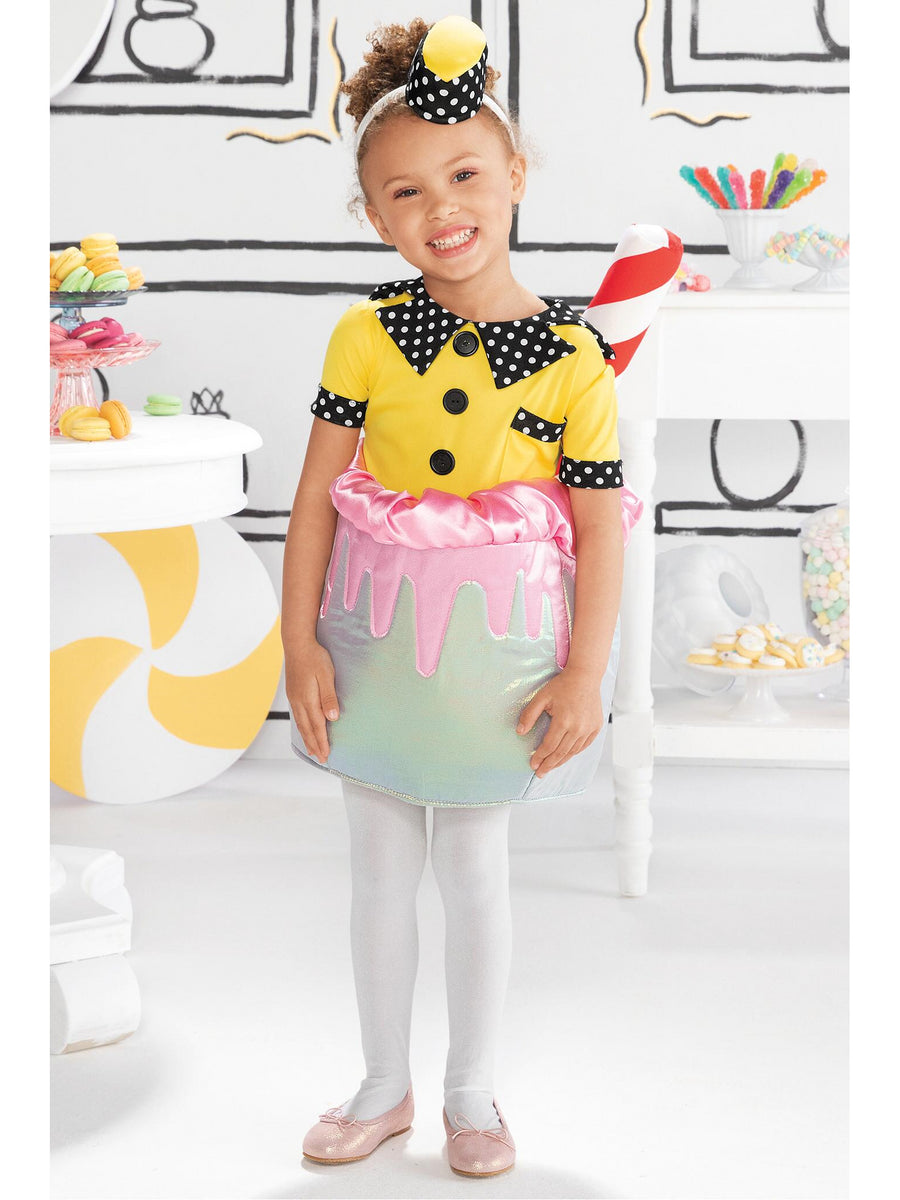 Candy Catcher Sundae Waitress Costume for Girls