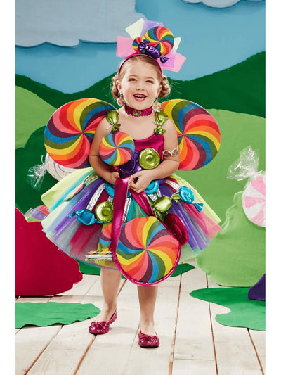 Candy Fairy Costume for Girls  mlt alt1
