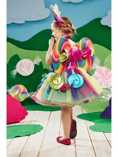 Candy Fairy Costume for Girls  mlt alt2
