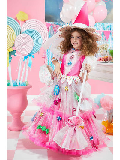 Candy Witch Costume For Girls  pin alt1