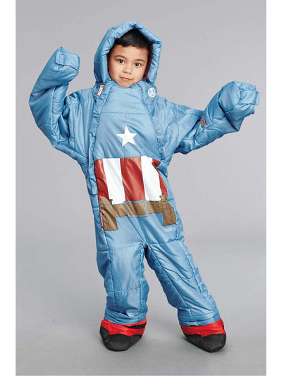 Captain America® Sleeping Bag  blu alt1