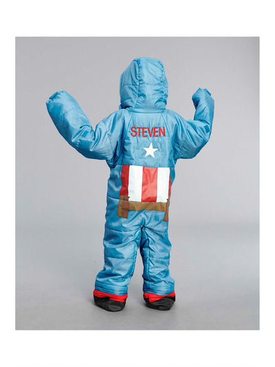 Captain America® Sleeping Bag  blu alt2