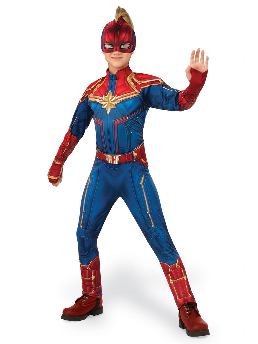 Captain Marvel Costume for Girls