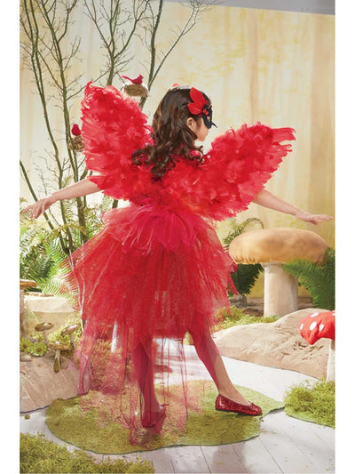Cardinal Costume for Girls  red alt1