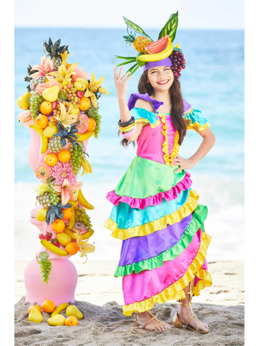 Cha Cha Dancer Costume for Girls