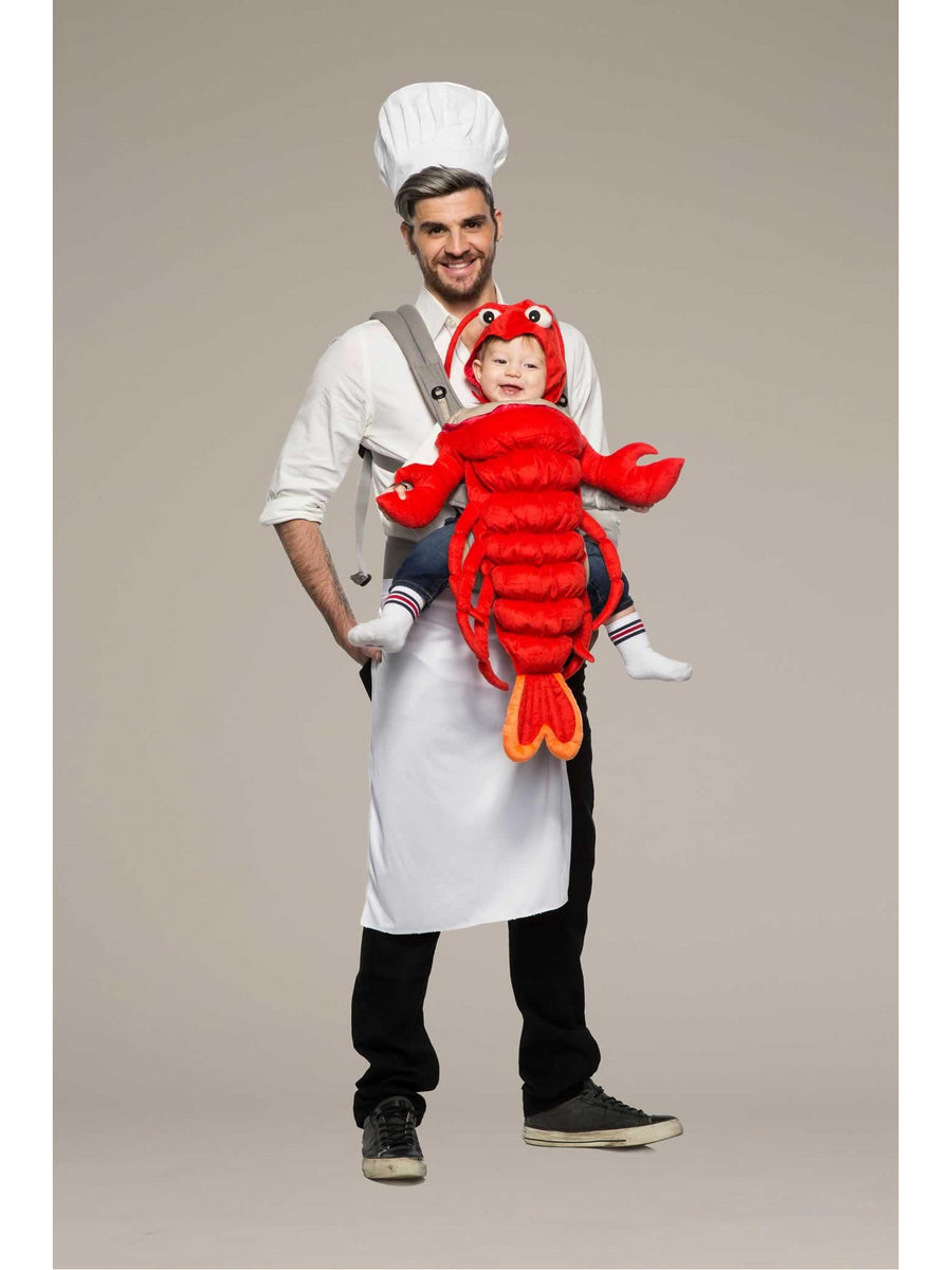Chef & Lobster Baby Carrier Costume Kit
