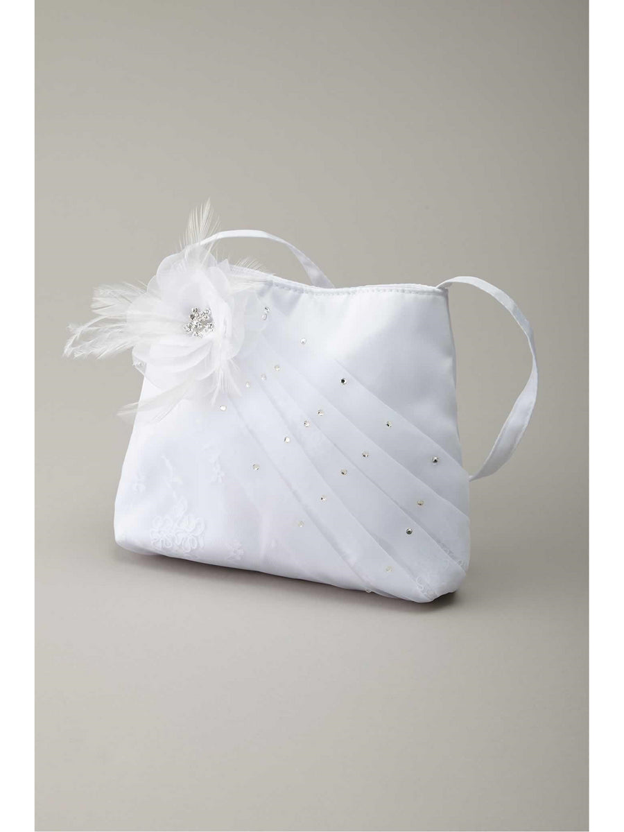 Chiffon Flower Purse