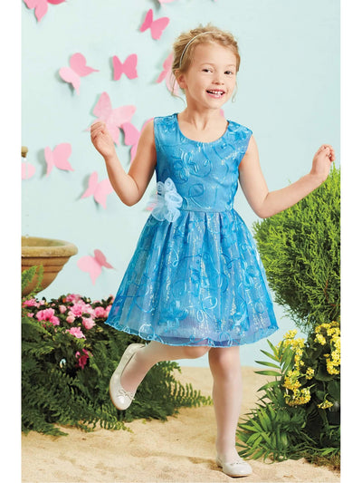 Cinderella® Girls Sequin Dress  blu alt1